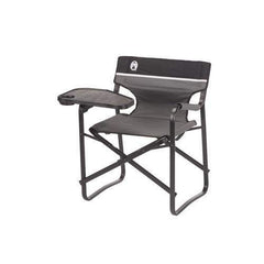 Coleman Portable Aluminum Deck Chair with Swivel Table