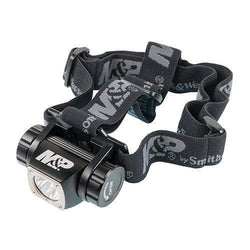 Delta Force Flashlight - HL-10 Headlamp, LED with 3 AAA Batteries Aluminum Black