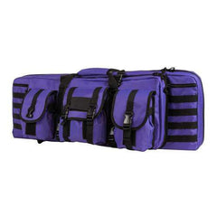 "Double Carbine Case - 36"", Black with Purple Tan"