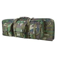 "Double Carbine Case - 36"", Woodland Camo"