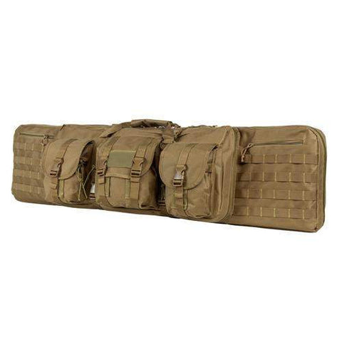 "Double Carbine Case - 46"", Tan"