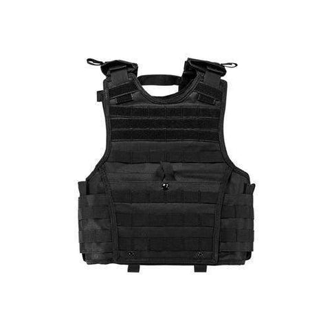 Expert Plate Carrier Vest - Small, Black