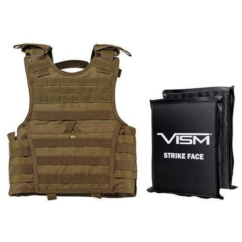 Expert Plate Carrier Vest - Small, Tan