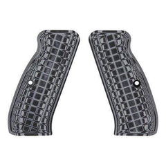G-10 Tactical Pistol Grips - CZ 75, Gray-Black, Coarse