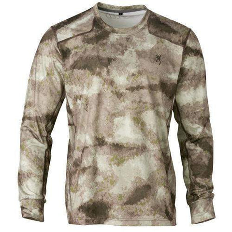 Hell's Canyon Speed Plexus Mesh Shirt - Long Sleeve, ATACS Arid-Urban, Mediu,