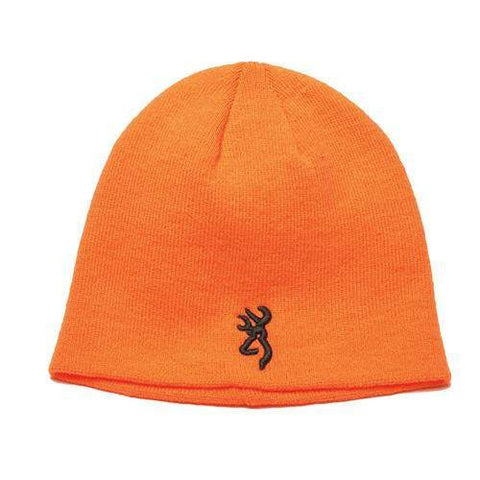 Kenai Knit Beanie - Blaze Orange