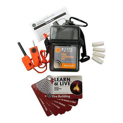 Learn and Live - Fire Starting Kit