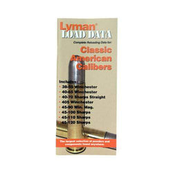 Load Data Book - Classic Rifle Calibers