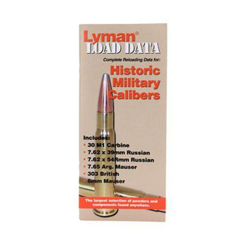 Load Data Book - Old Military Calibers