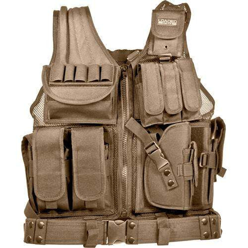 Loaded Gear Tactical Vest - VX-200, Tan