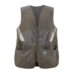 Men's Summit Shooting Vest - Green-Dark Gray, 2X-Large