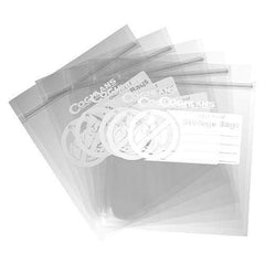 "Odor Proof Storage Bags - 8.50"" x 10"", Clear"
