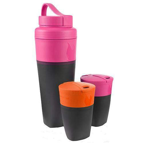 Pack Up Drink Kit - Fuchsia and Orange