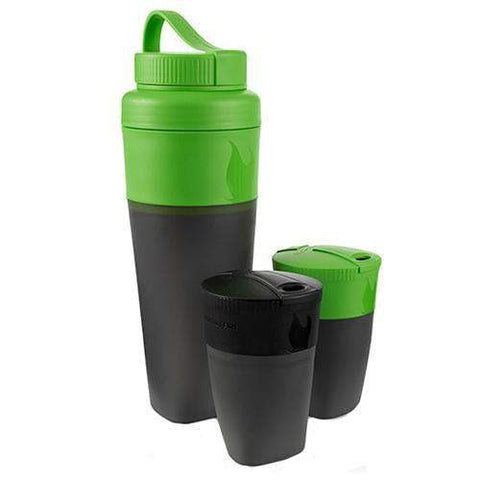 Pack Up Drink Kit - Green and Black
