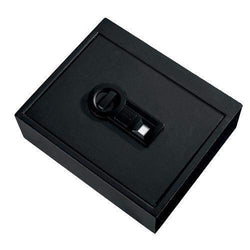 Personal Safe - Drawer with Biometric Lock, Black