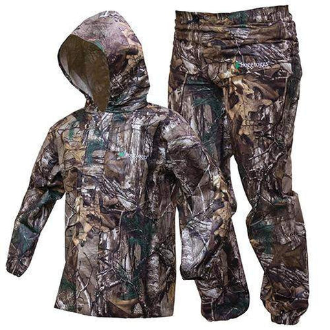 Polly Woggs Kids Rain Suit - Realtree Xtra, Large