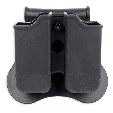 Polymer Magazine Holder - Most 1911 Style Single  Stack Magazines, Black