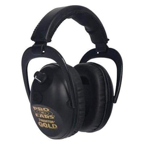 Predator Gold - Noise Reduction Rating 26dB, Black