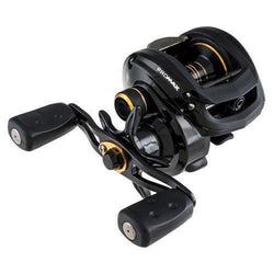 Pro Max Low Profile Reel - LP. 7.1:1 Gear Ratio, 8 Bearings, 18 lb Max Drag, Right Hand, Clam Package