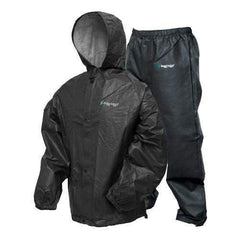 Pro-Lite Rain Suit Carbon Black - Small-Medium