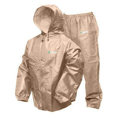 Pro-Lite Rain Suit Khaki - Medium-Large
