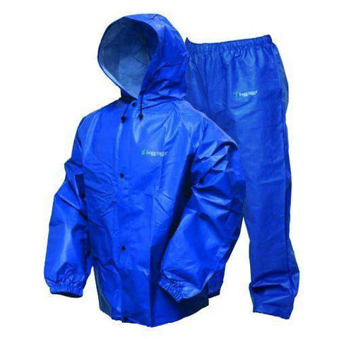 Pro-Lite Rain Suit Royal Blue - Medium-Large