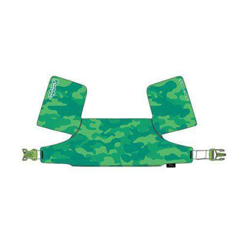 Puddle Jumper Deluxe Life Jacket - Green Camo