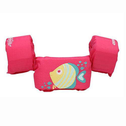 Puddle Jumper Deluxe Life Jacket - Pink Fish