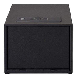 Quick Access Safe - Electronic Lock with Shelf, Black
