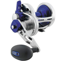 Saltiga 2 Speed Lever Drag Saltwater Reel - 50, 6.3:1 Gear Ratio, 6CRBB Bearings, 40 lb Max Drag, Right Hand