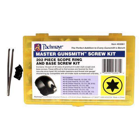 Screw Kit - Master Gunsmith Torx Head