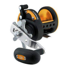 Seagate Star Drag Saltwater Reel - 40, 6.4:1 Gear Ratio, 6CRBB, 1RB Bearings, 19.80 lb Max Drag, Right Hand