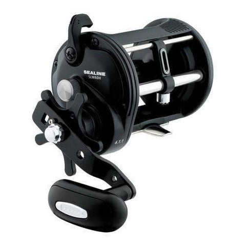 Sealine Saltwater Levelwind Reel - 60, 6.1:1 Gear Ratio, 1BB. !RB Bearings, 20 lb Max Drag, Right Hand