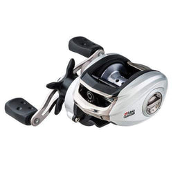 Silver Max Low Profile Reel - LP, 6.4:1 Gear Ratio, 6 Bearings, 18 lb Max Drag, Left Hand, Clam Package