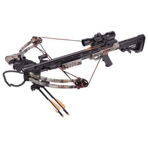 Sniper 370 Crossbow Package, Black