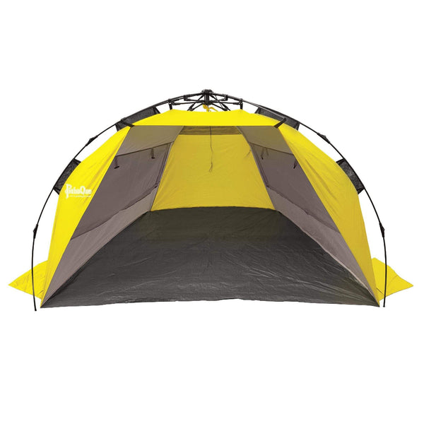 Surfline QuickPitch Beach Cabana, Gray-Yellow