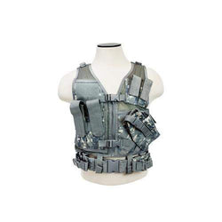Tactical Vest - Childrens, Digital Camo XS-S
