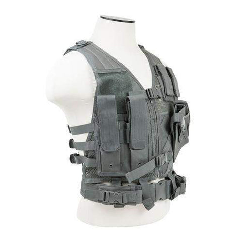 Tactical Vest - Childrens, Urban Gray XS-S