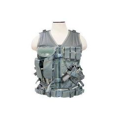 Tactical Vest - Digital Camo, M-XL