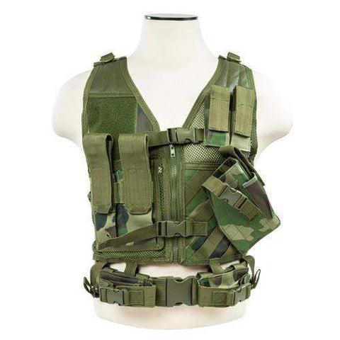 Tactical Vest - Woodland, XS-S