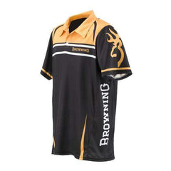 Team Browning Polo Shirt Gold-Black - Small