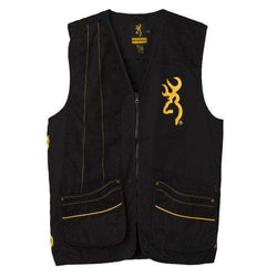 Team Browning Vest, Black-Gold - XX-Large