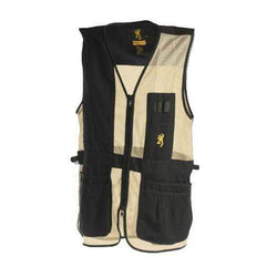 Trapper Creek Vest Black-Tan - XX-Large