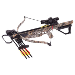 Tyro 4x Recurve Crossbow with 4x32mm Scope