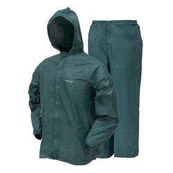Ultra-Lite2 Rain Suit w-Stuff Sack - Large, Green