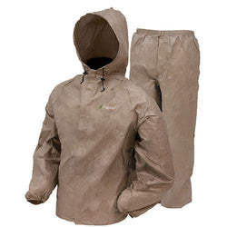 Ultra-Lite2 Rain Suit w-Stuff Sack - Large, Khaki