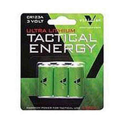 Viridian CR123a Lithium Battery 3 Pack for X5L-X5L-RS