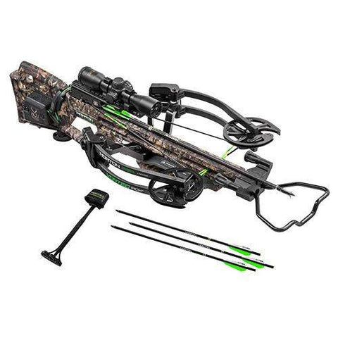 Vortec RDX Crossbow Package - with Pro-View 2 Scope, ACUdraw, Mossy Oak Country