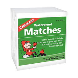 Waterproof Matches, 10 Box Pack
