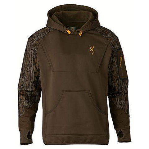 Wicked Wing Timber Fleece Hoodie - Mossy Oak Bottomlands, Medium